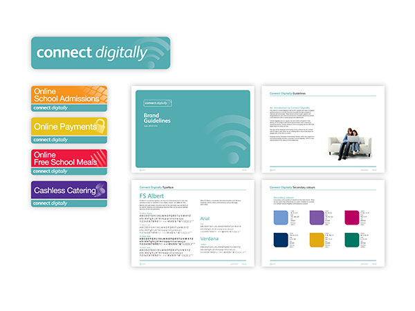 Connect Digitally - Brand Identity and Guidelines
